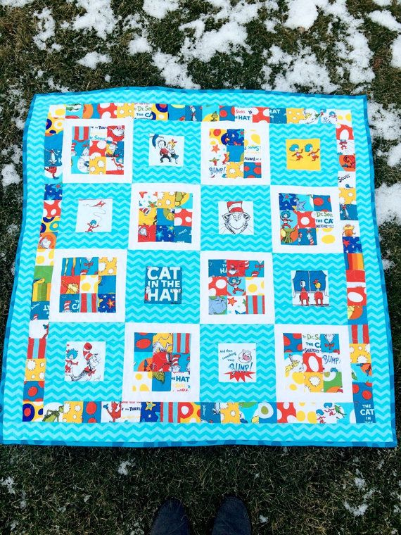 306 best dr seuss images on Pinterest | Dr suess, Baby quilts and ... : dr seuss quilt fabric - Adamdwight.com