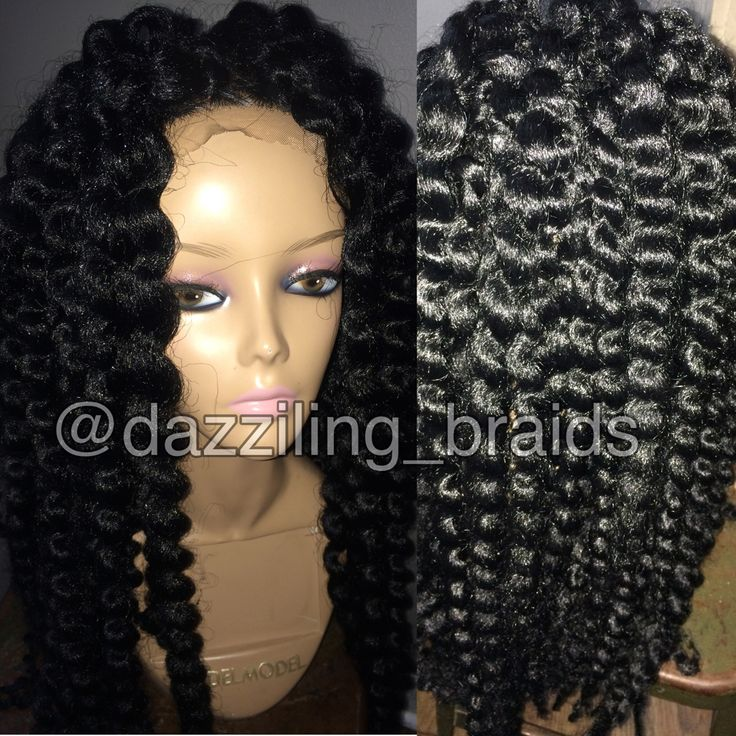 Untwisted Mambo Twist Lace Front Braid Wig Pinterest