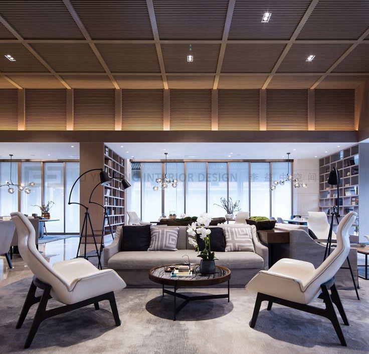 新築住宅の外観アイディア10選 箱型なナウトレンドデザイン: POLY Central Mansion Sales Center On Behance