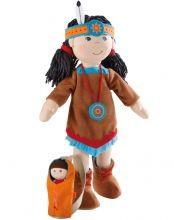 Bábika Indiánka Sihu - Látkové bábiky - Hračky pre deti - Hračky a Detský nábytok- Detský Sen - Maxus