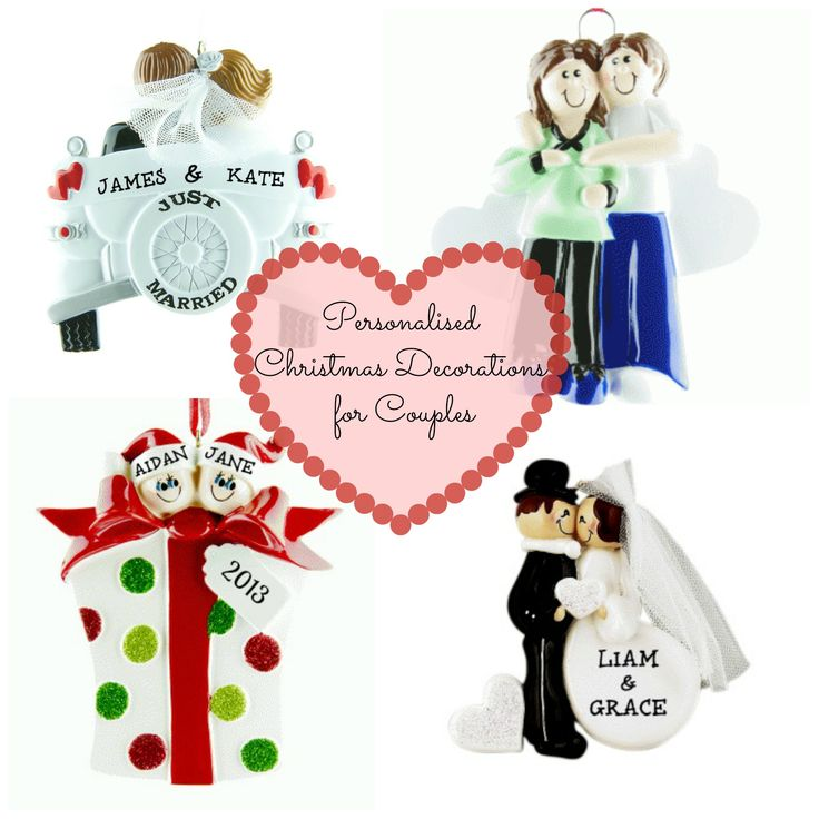 Personalised Christmas Decorations for Couples http://www.wowwee.ie/Personalised-Christmas-Tree-Decorations-s/30.htm