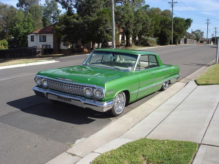 1963 Chevrolet Impala 4 Door RHD Australian assembled