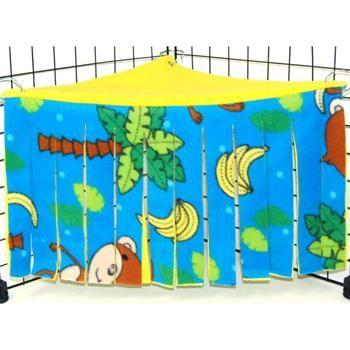 Corner Curtain in Tossed Monkeys for Guinea Pigs