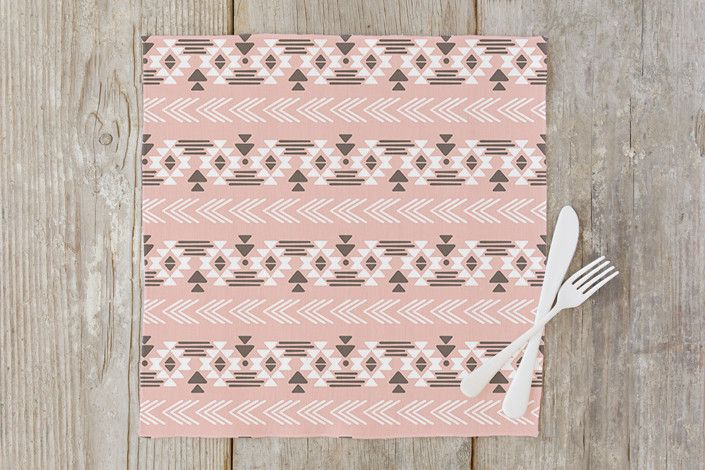 Southwestern Neutral Napkin by Cheer Up Press | Minted