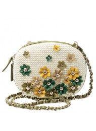 2011 nieuwe keten van tuin bloem handtassen schoudertas messenger bags