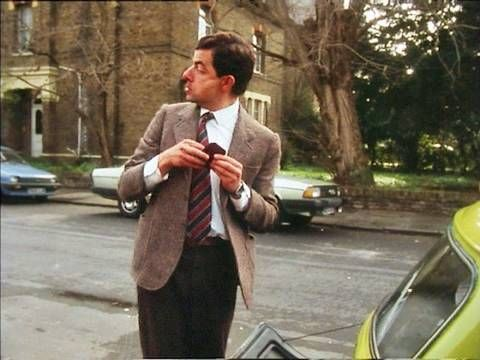 Mr Bean - Car keys