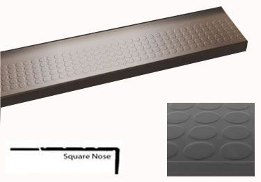 Roppe 174 Rubber Stair Tread Low Profile Raised Circular Lawson Brothers Floor Company