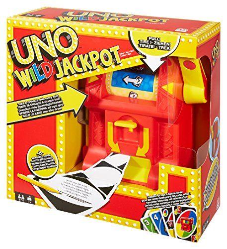Juegos Mattel – Uno wild jackpot (Mattel DNG26)
