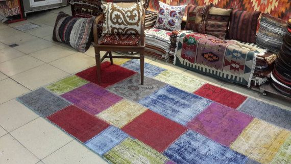 8.2 by 4.9 feet. Free shipping. Multicolour by turkishrugman