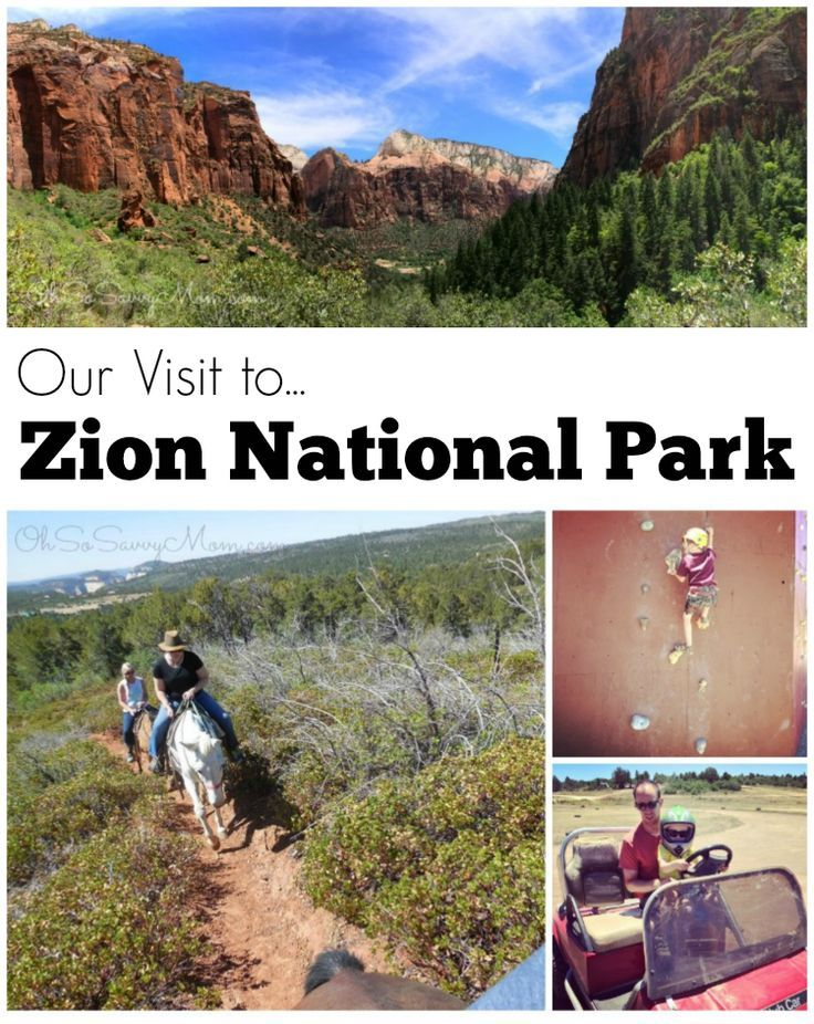 Family Travel: Our vacation to Zion National Park and Zion Ponderosa Resort