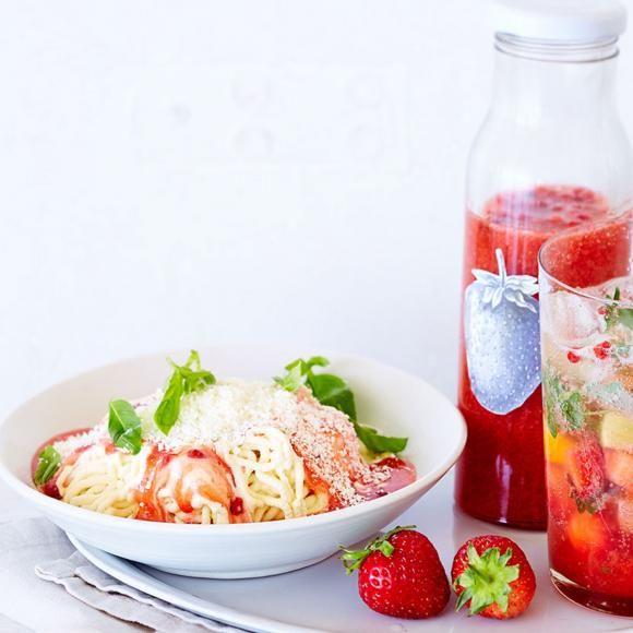 Rezept: Spaghetti-Eis