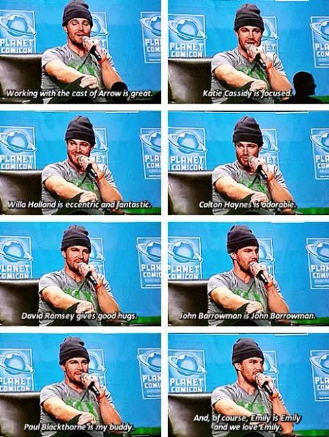 Stephen Amell #PlanetComicCon