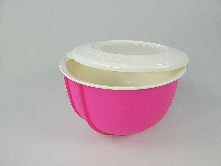 TUPPERWARE Rührschüssel Rührstar 1,5 L pink Schüssel kleiner Rühr - dunkelblaue kche
