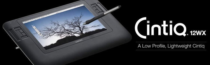 Cintiq 12WX tablet from Wacom (YOU CAN DRAW ON THE SCREEN MOFOS), $999