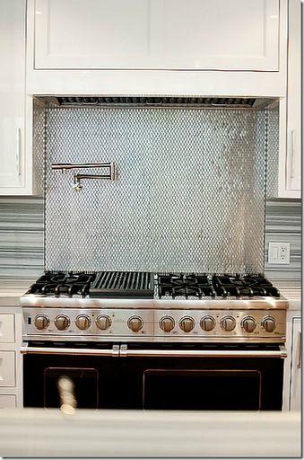 78 Images About Stove Backsplash On Pinterest Tin Tiles