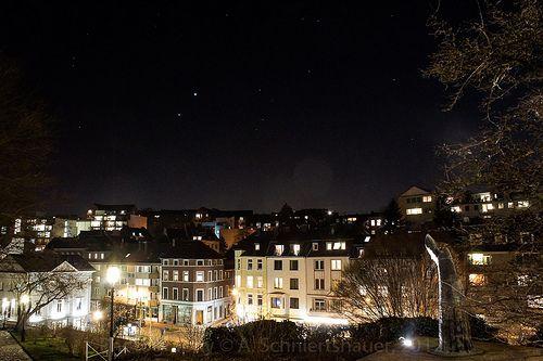Conjunction of Venus and Jupiter @ Aachen Burtscheid