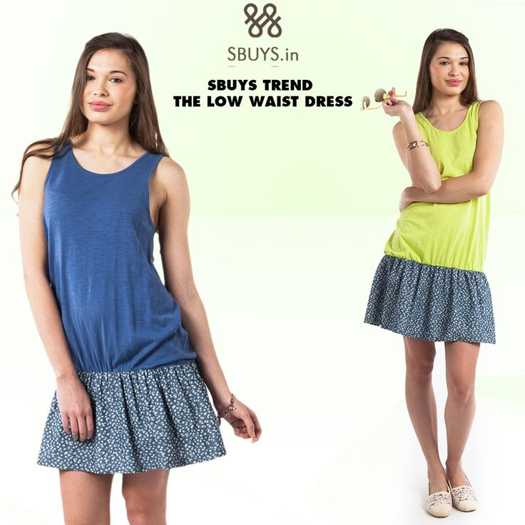 Get #glamorous look with Low #waist #dress .... Grab Now >>> http://www.sbuys.in/young/young-dress.html