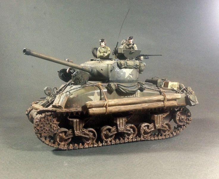 M4A1 Sherman - 1:35 by Daz