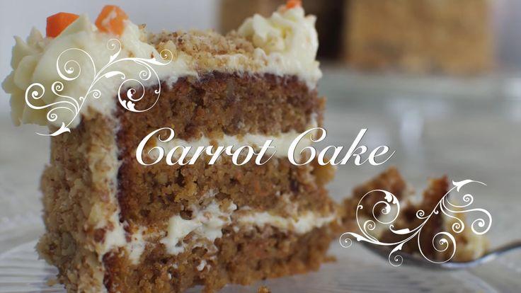 Carrot Cake en Español: Es sin duda una tarta delicios a. Esta hecha a base de zanahorias, manzana, azúcar moreno, harina integral,... y que está buenísima.