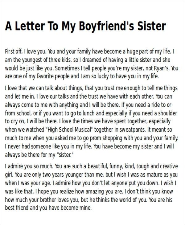 Sample Thank-You Letter To My Boyfriend- 5+ Examples In Word, Pdf