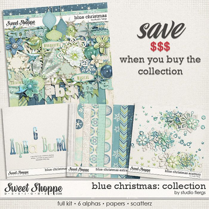 Blue Christmas: COLLECTION by Studio Flergs