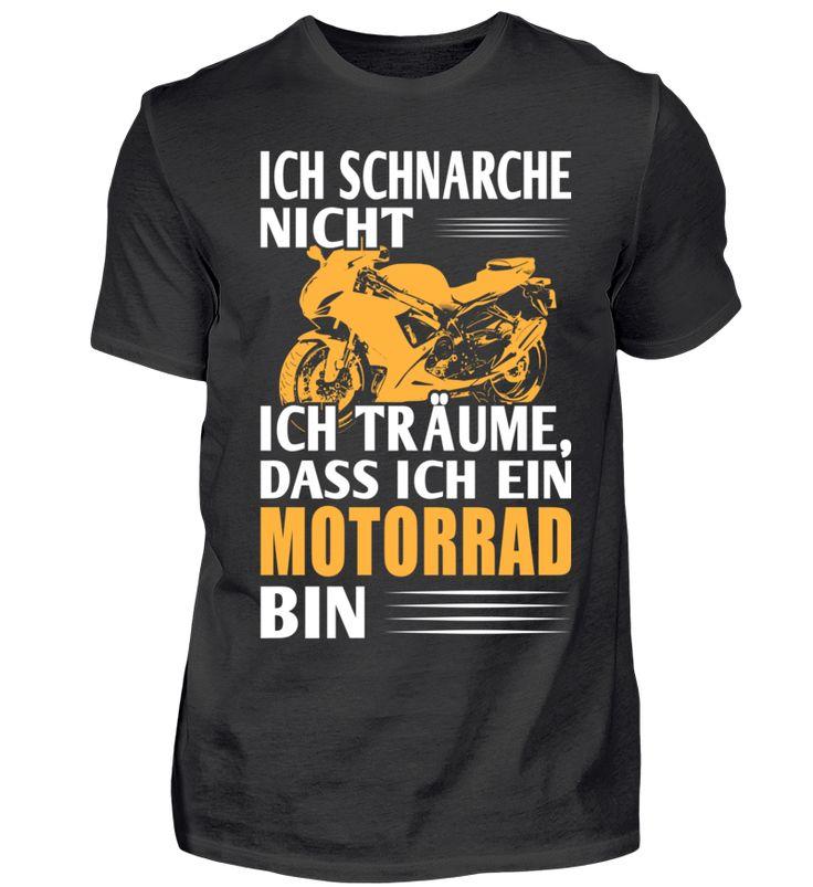 Ich träume,dass ich ein Motorrad bin