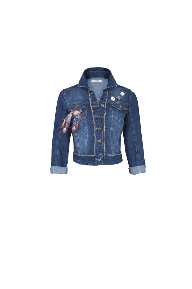 Fred Mello denim jacket #denim #jacket #fredmello #fredmello1982 #newyork #accessories #womancollection #springsummer2013 #accessible luxury #cool #usa #