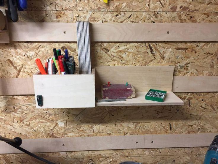 Werkstattumgestaltung Teil 1 – Werkzeugwand – French Cleat System – Bauanleitung…