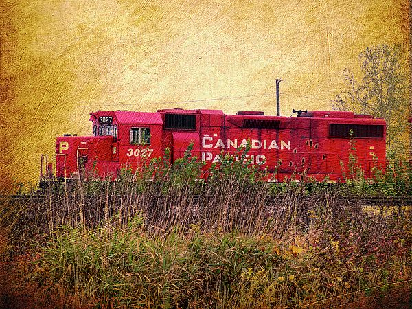 Cp Engine Photograph by Leslie Montgomery