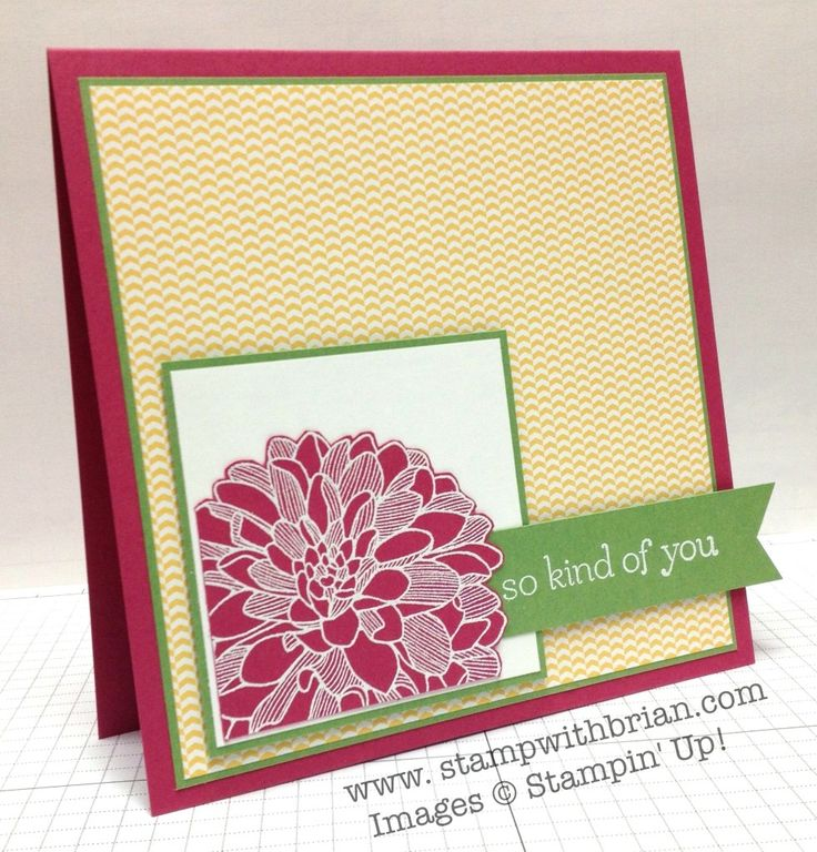 Regarding Dahlia, Sweet Essentials, Stampin' Up!, Brian King, PPA195
