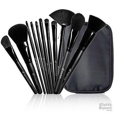 ★E.L.F. Studio 11 Piece Brush Collections ELF Powder Bronzer Cosmetic Makeup★