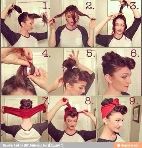greasers hairstyle for girls - Google Search