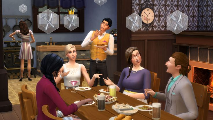 Dinner Date With Real Life Sims