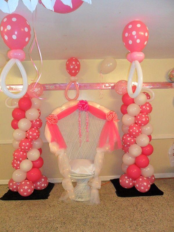 Best balloon tower ideas on pinterest
