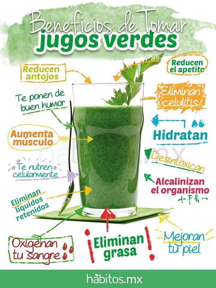 Conoce los beneficios de tomar jugos verdes #saludable #estudiantes #umayor