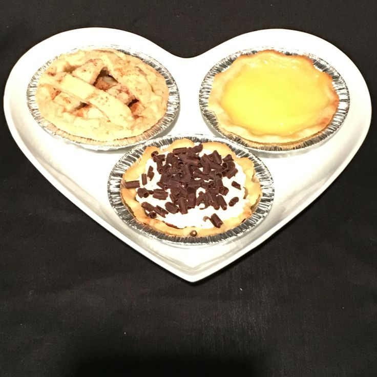 Pies for tasting.