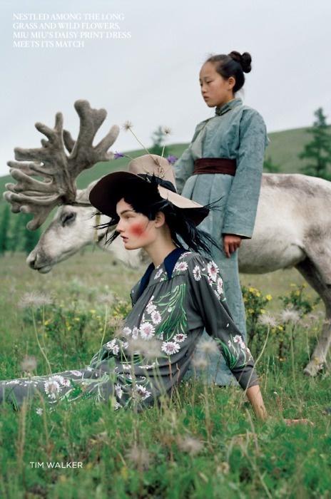 Tim Walker, Mongolia