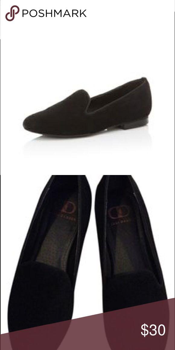 Kelsi dagger black suede loafer smoking slippers Classic pair of suede smoking slippers! Kelsi Dagger Shoes Slippers