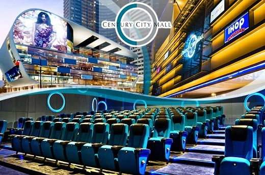 33% Off: Get 3 Movie Passes for P499 instead of P750 at Century City Cinemas Makati! Avail on this amazing promo only here at www.MetroDeal.com!