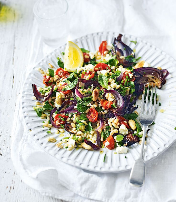 A wholesome salad recipe full of summery flavours and bursts of juicy tomato in every bite.