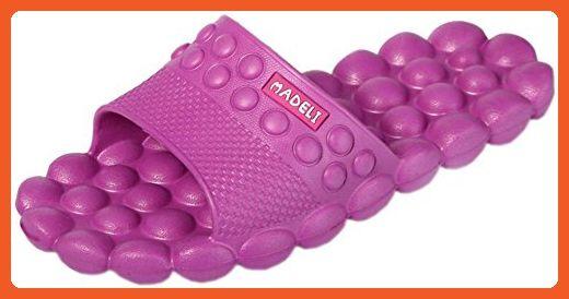 Bettyhome Women's Massage Foam Non-slip Bathroom Household Slippers Sandal (7B(M)US, purple) - Slippers for women (*Amazon Partner-Link)