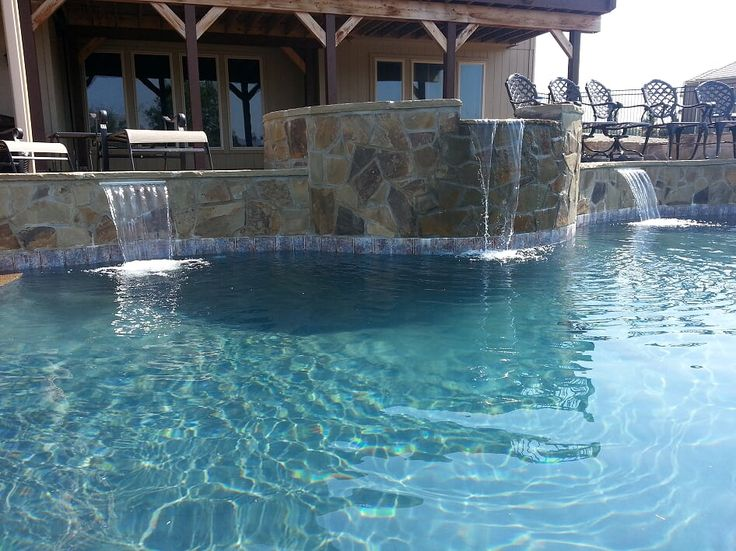 1000 ideas about blue haven pools on pinterest pools for Pool design kansas city