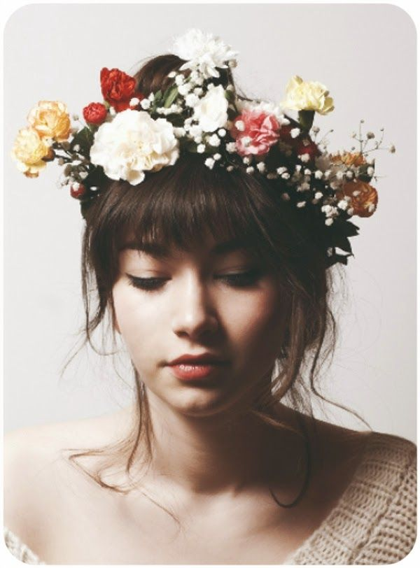 DIY flower crown - DIY: coronas de flores