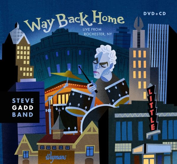 Steve Gadd Band : The Way Back Home 2xDVD + CD