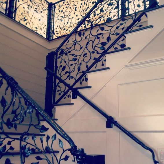 Best Custom Made Staircase Railing Staircase Railings Stairs Basement Entrance 400 x 300