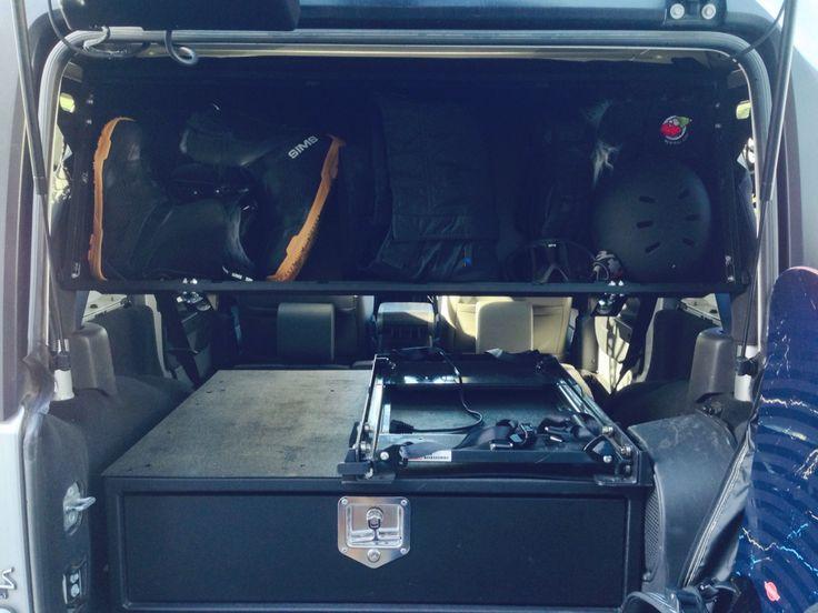 20 Best Jeep Jk Storage Images On Pinterest Guns And