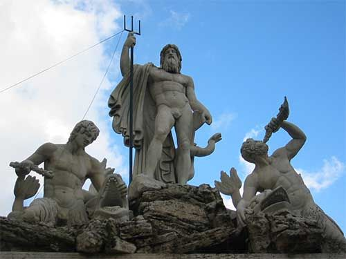 poseidon antigua grecia