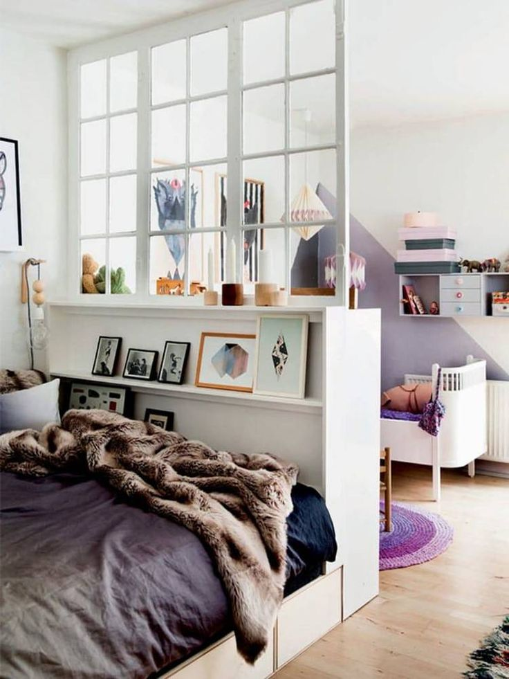 Even a one-room apartment can seem like two