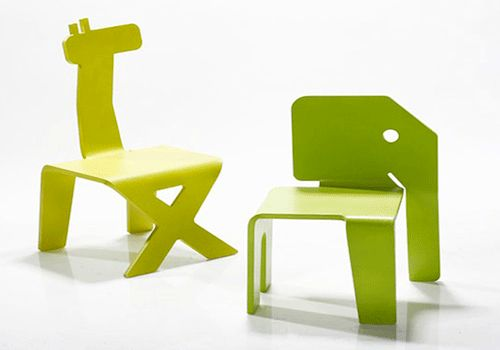 children furniture, colorful kids chairs that look like baby animals