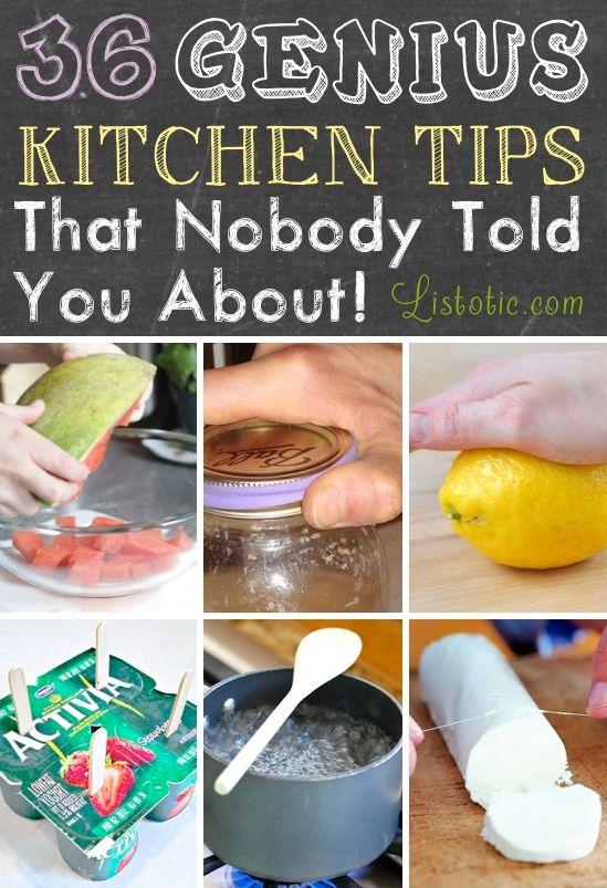 36 Easy Kitchen Tips and Life Hacks | www.ladylifehacks.com